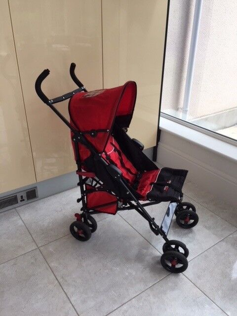 Babyzen Stroller Instructions Ferrari Red Black Buggy Complete With Rain Cover Buggy