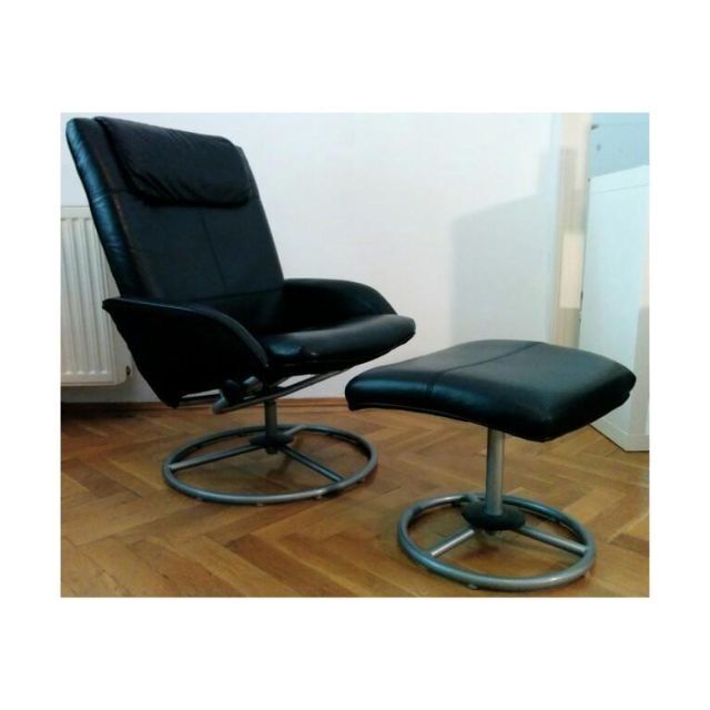 Ikea Malung Ikea Malung Black Recliner And Foot Stool | In West End