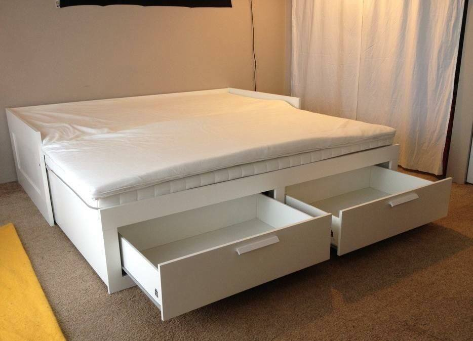 Single Day Bed Free Delivery Ikea Brimnes White Day Bed With 2 Mattresses