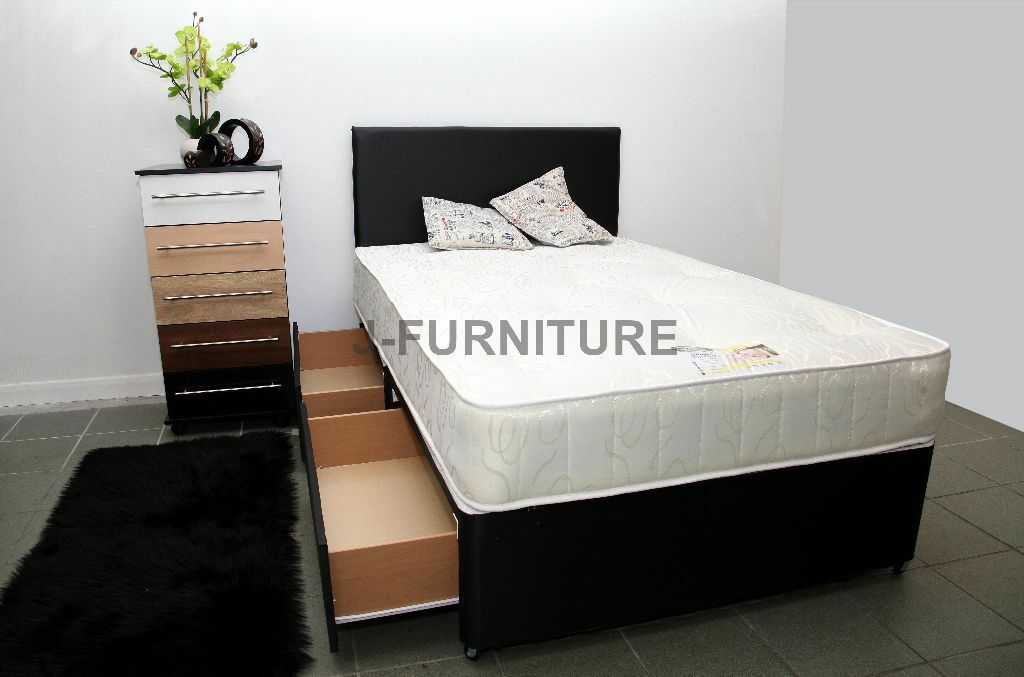 Brand New All Sizes Divan Bed Base With Any Type Of