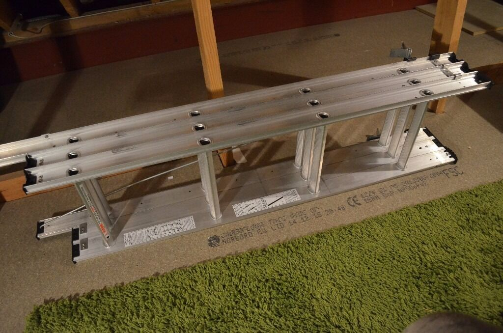3 Section Extendable Loft Ladder Up To Approx 315cm