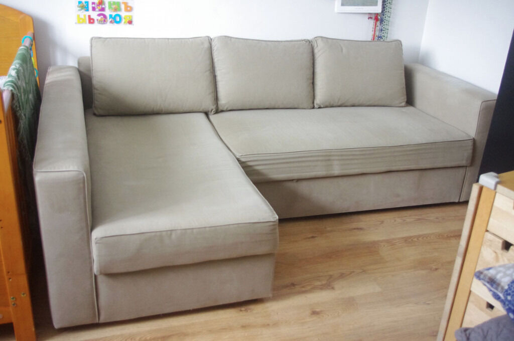 Ikea Manstad Corner Sofa Bed With Storage In Vauxhall