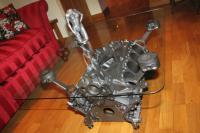 Engine block coffee table diy   Tom