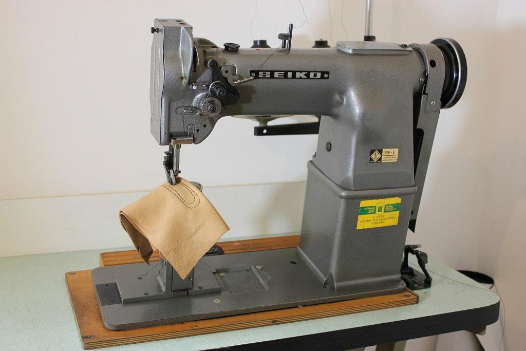 Seiko Pw 6 Post Bed Roller Feed Industrial Sewing
