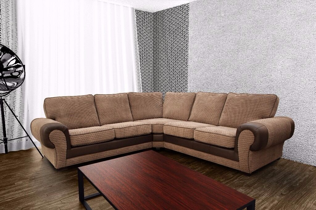 Sofa Cord Brand New Large Design, Cord Sofa Collection, Available As ...