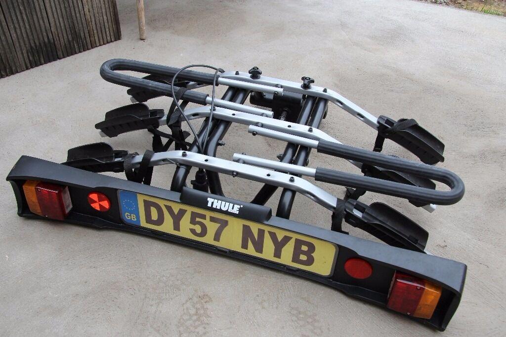 Thule Tow Bar Mounted Bike Rack Thule 9503 3 Bike