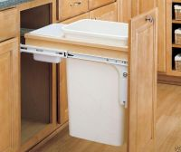 under cabinet trash can pull out  Roselawnlutheran