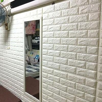 Nn 3d Wallpaper 3d Brick Pattern Wallpaper Modern Wall Background Tv