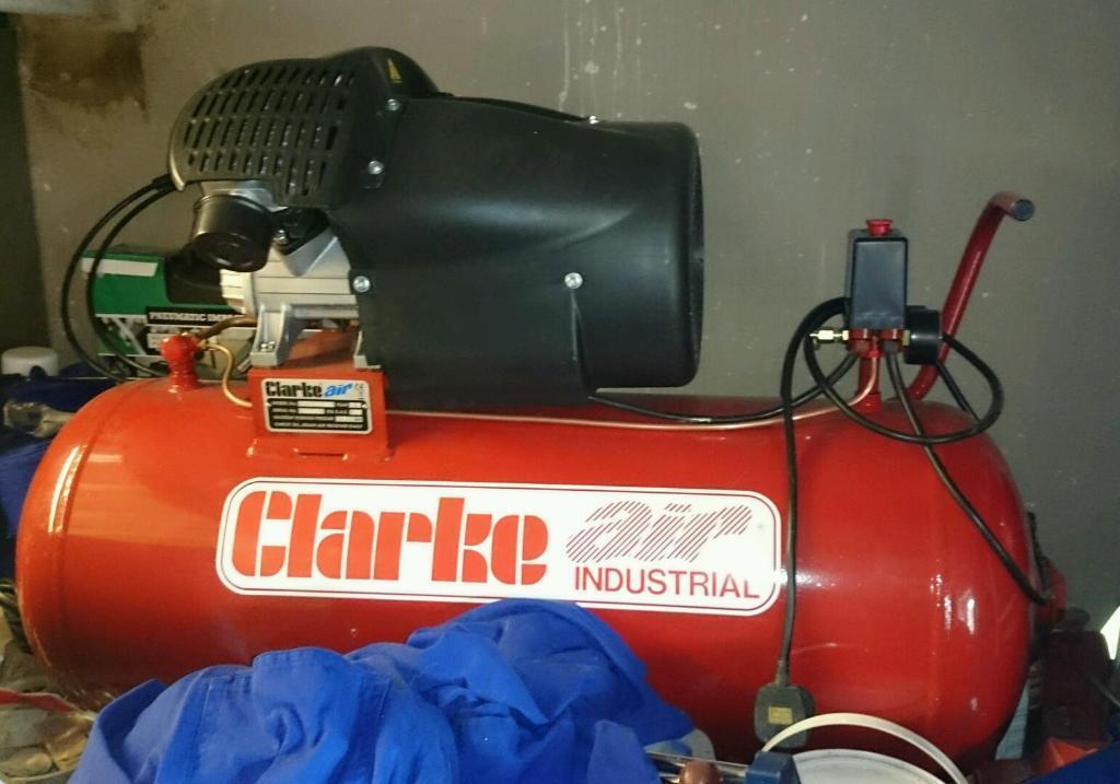 Clarke Compressor 14 Cfm In Paignton Devon Gumtree