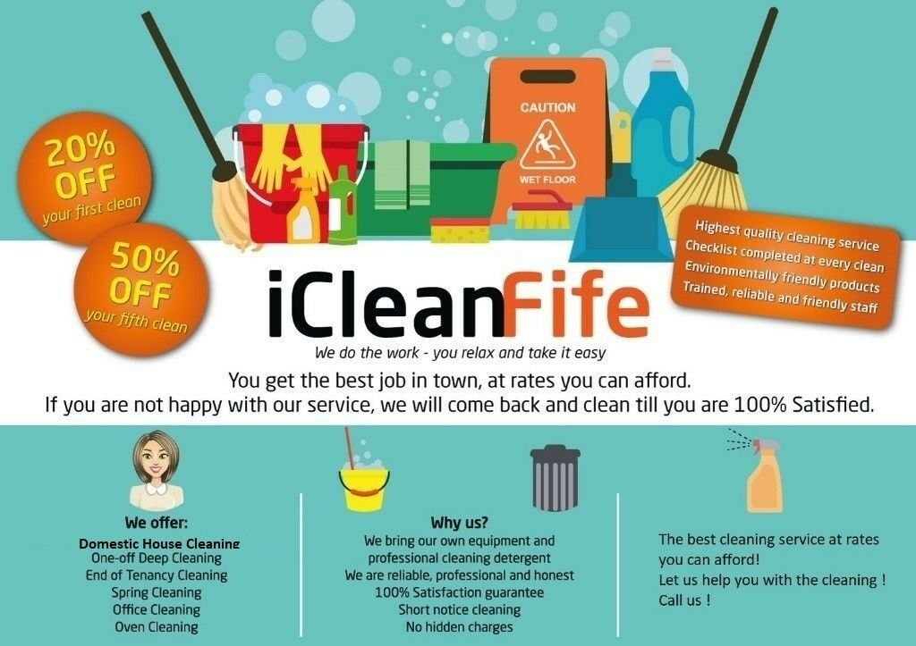 Professional Domestic and Business cleaning services in Fife Gumtree