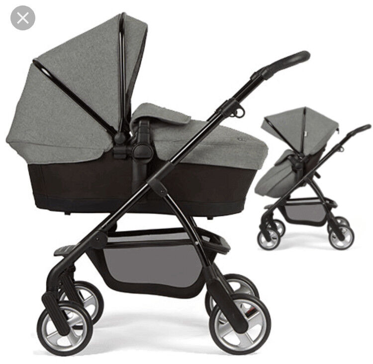 Egg Pram Mothercare Silver Cross Wayfarer Special Edition Eton Grey Travel