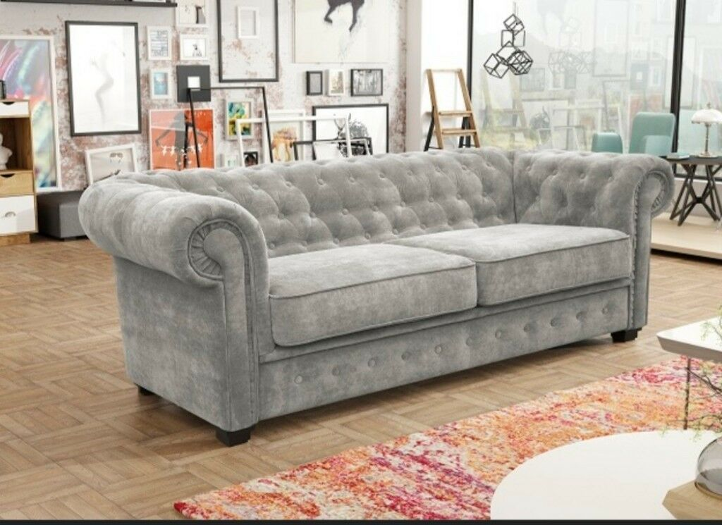 Sofa Deals Belfast Exclusive Fabric Chesterfield Sofas - ****special
