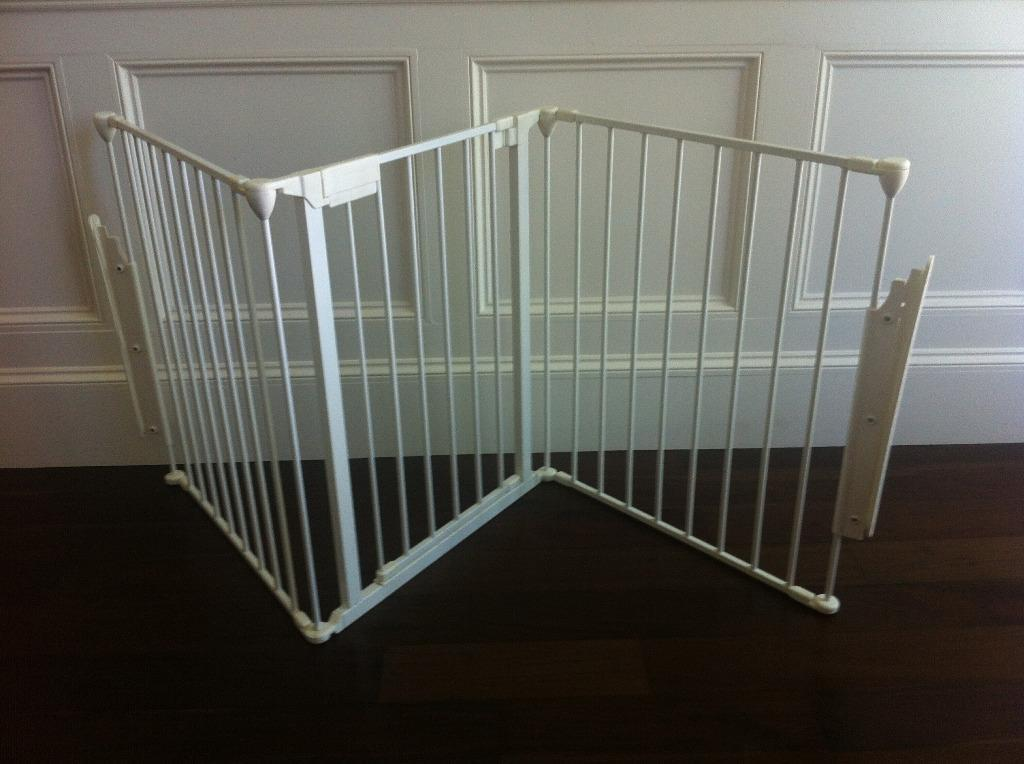 Double Buggy Out N About Baby Gate Great For Large Openings 3 Sections 650mm
