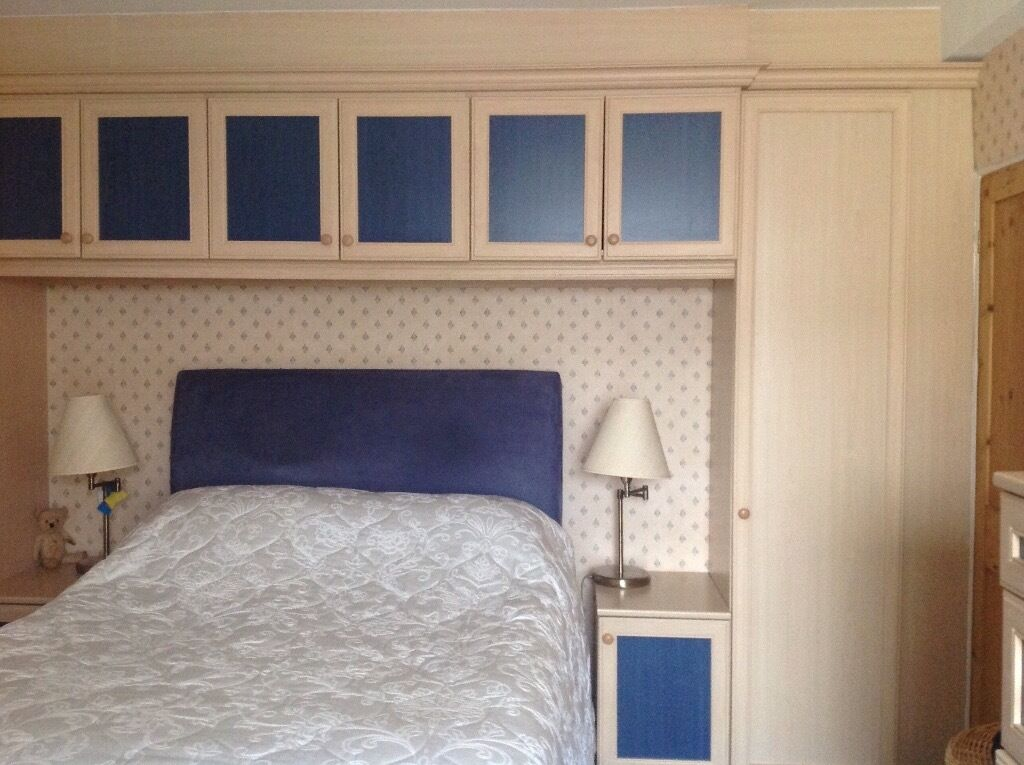 Fitted Bedroom Furniture3 Wardrobes2 Bedside Cupboards