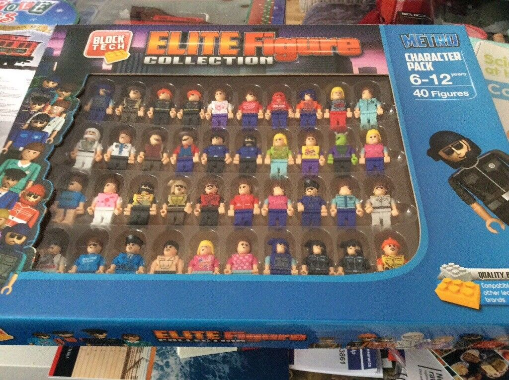 New Ikea Locations Elite Figure Toy Collection Block Tech | In Gosport