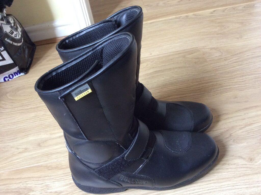 Hein Gericke Sheltex Bullson Motorcycle Boots Size 10