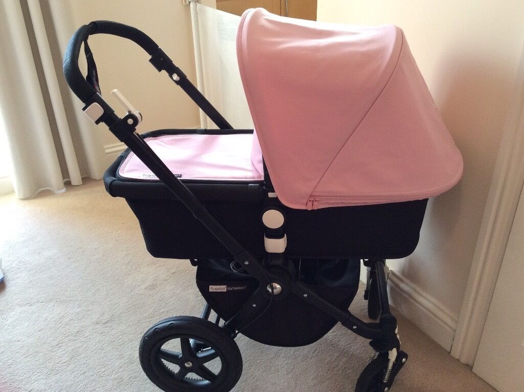 Mothercare Lightweight Pram Bugaboo Cameleon 3 Pram Pushchair With Soft Pink
