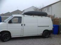 VW T4 Roof Rack & Large Roof Box - Volkswagen Transporter ...