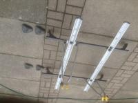 Exodus roof racks bars cycle carriers Corsa new condition ...