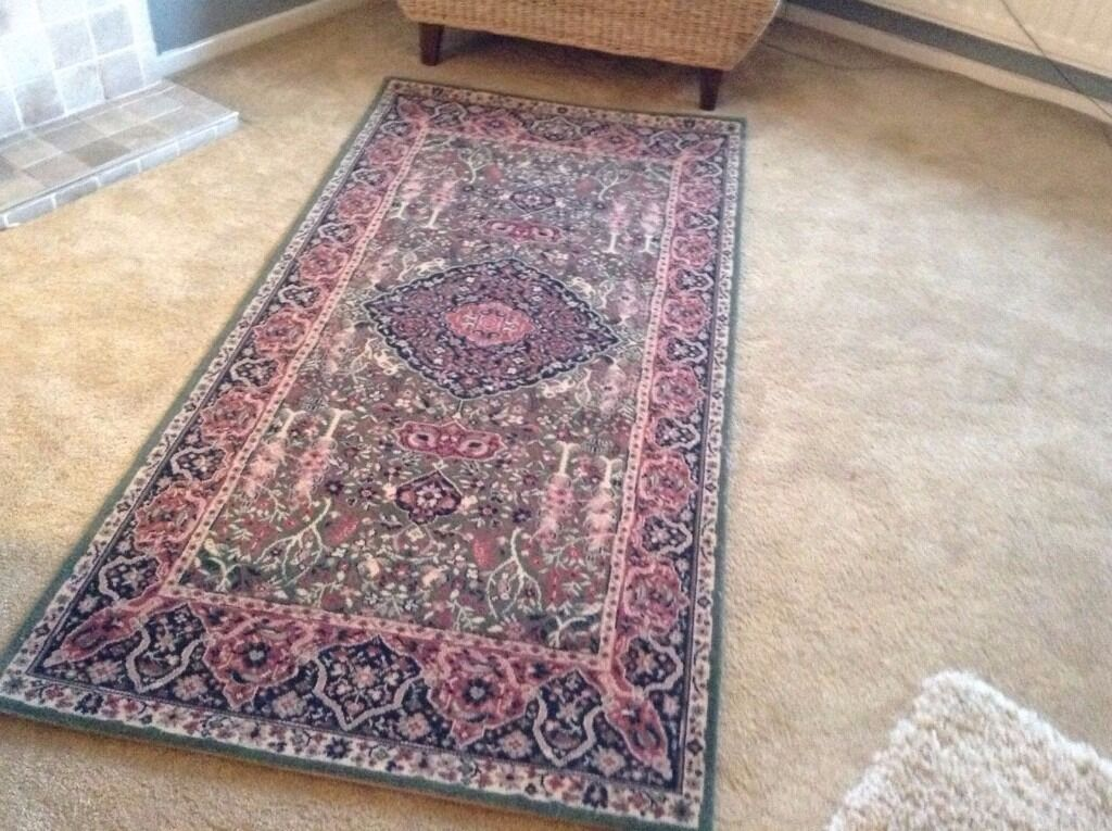 Pure New Worsted Wool Wilton Rug 16th Century Persian