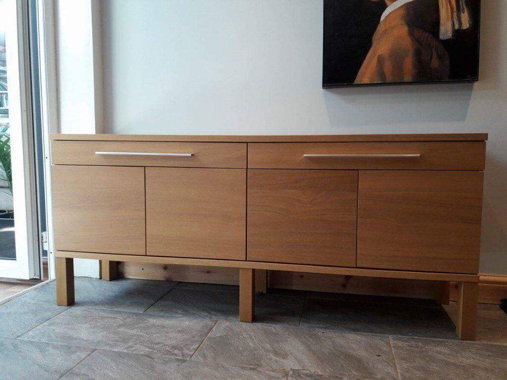 Ikea Bjursta Credenza : Ikea sideboard oak sideboards wonderful buffet table