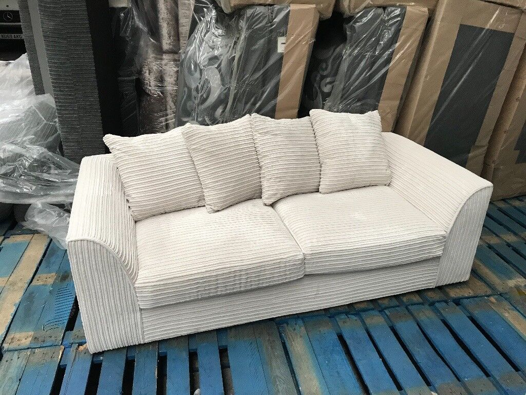 Corduroy 3 Seater Sofa New Sofas For Sale