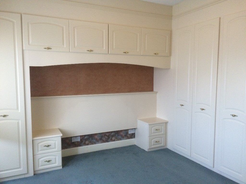 Over Bed Storage Unit Fitted Wardrobes And Over Bed Cupboards In Dingwall