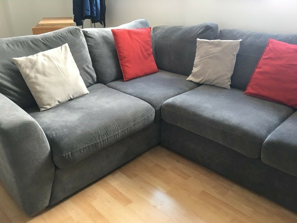 Dfs Sofas Glasgow Dfs Gracie Right Hand Facing Corner Sofa In Graphite Grey
