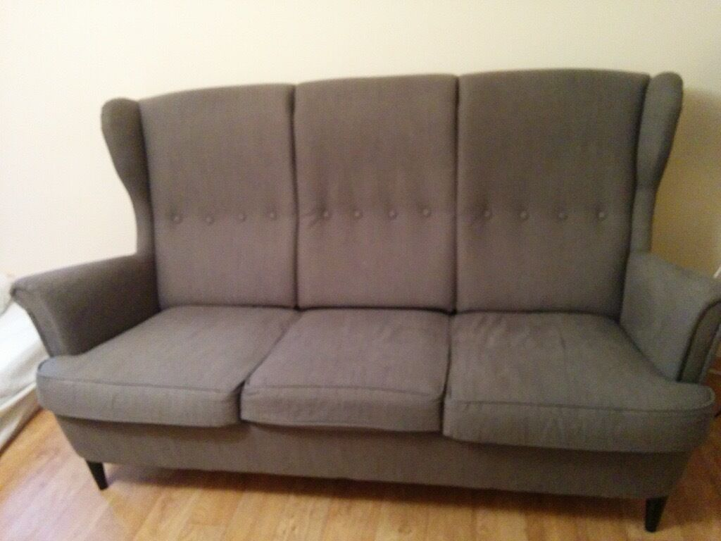 Strandmon Ikea Sofa Three Seater Ikea Strandmon Sofa Rrp 400 Good