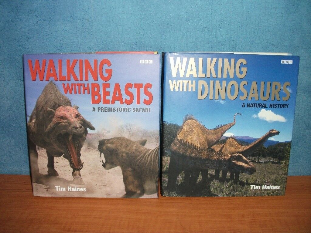Sofas On Gumtree London Two Bbc Walking With Beasts And Dinosaurs Books | In
