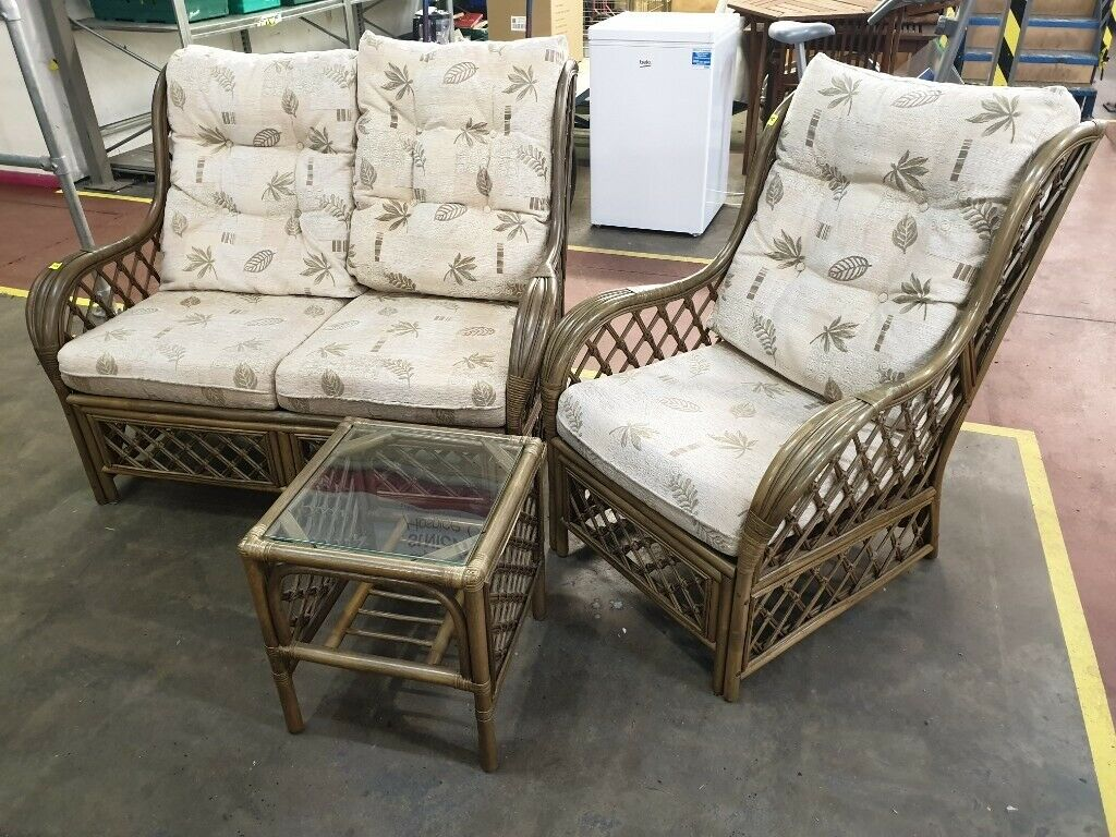 Conservatory Furniture Set Double Sofa Armchair