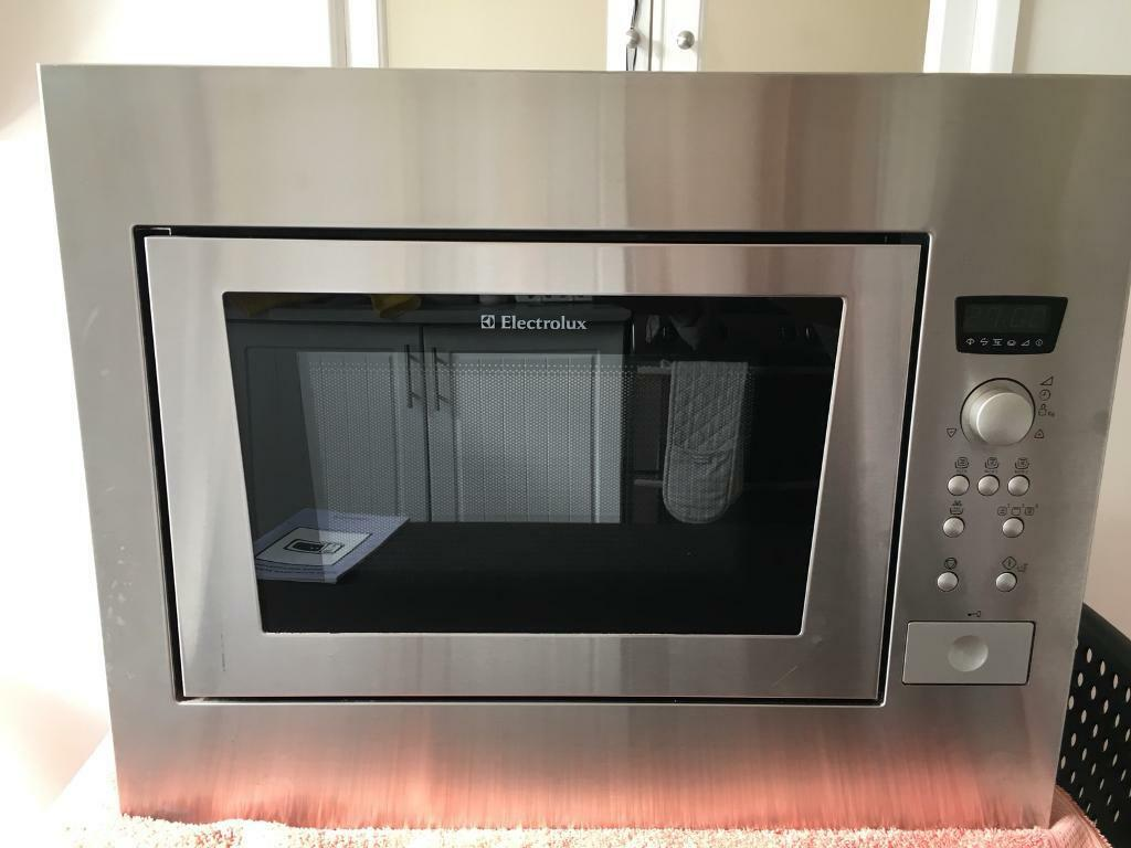 Integrated Microwave Electrolux Integrated Microwave Oven And Grill Ono In