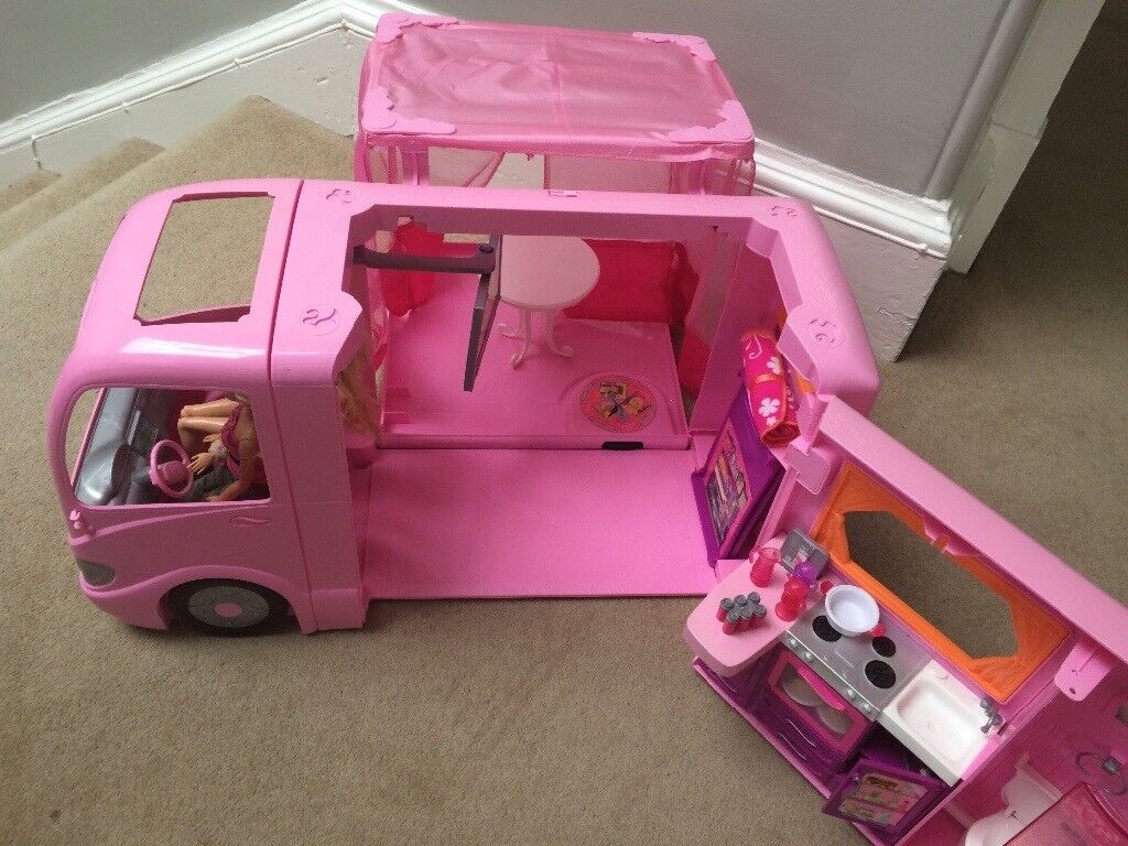 Baby Pram Edinburgh Barbie Camper Van With All Accessories In Granton