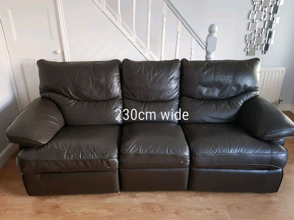 Leather Recliner Gumtree Glasgow Leather Sofa 3 2 And 1 Recliner In Andersonstown Belfast
