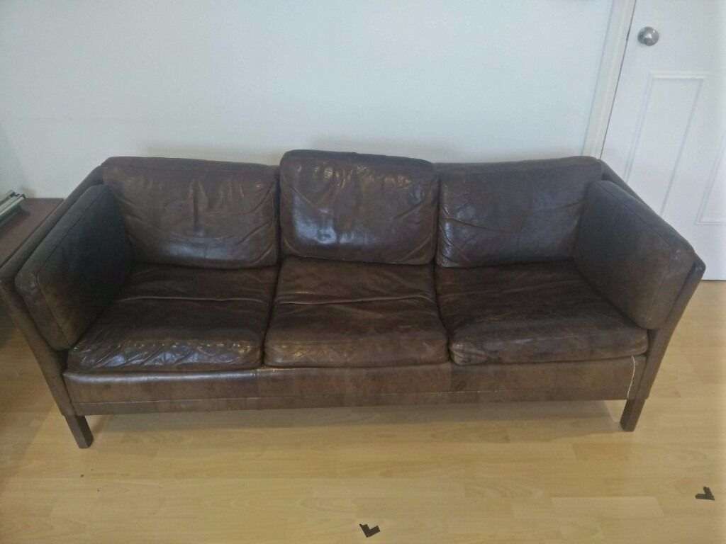 Dark Brown Couch Dark Brown Leather Sofas Well Loved 3 Seat Dark Brown