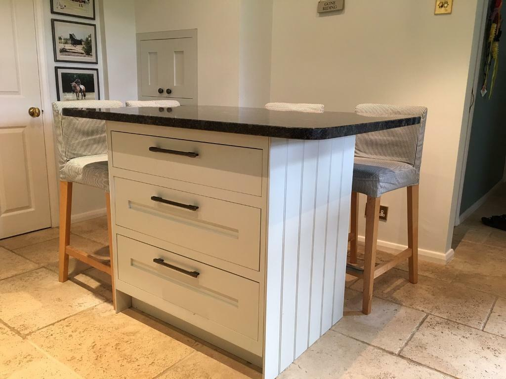 Kitchen Freestanding Island Freestanding Kitchen Island, 3 Large Draws, Complete With