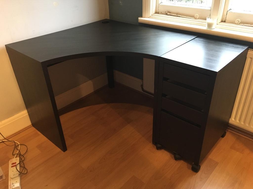 Micke Bureau Ikea Handleiding : Hoekbureau ikea micke corner workstation oak effect cm