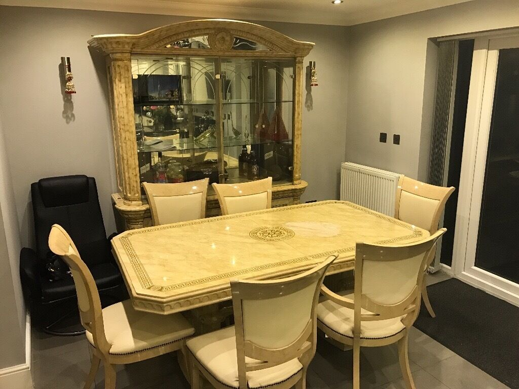 Kitchen Cabinets For Sale London Dining Table And Showcase Cabinet For Sale Italian Style