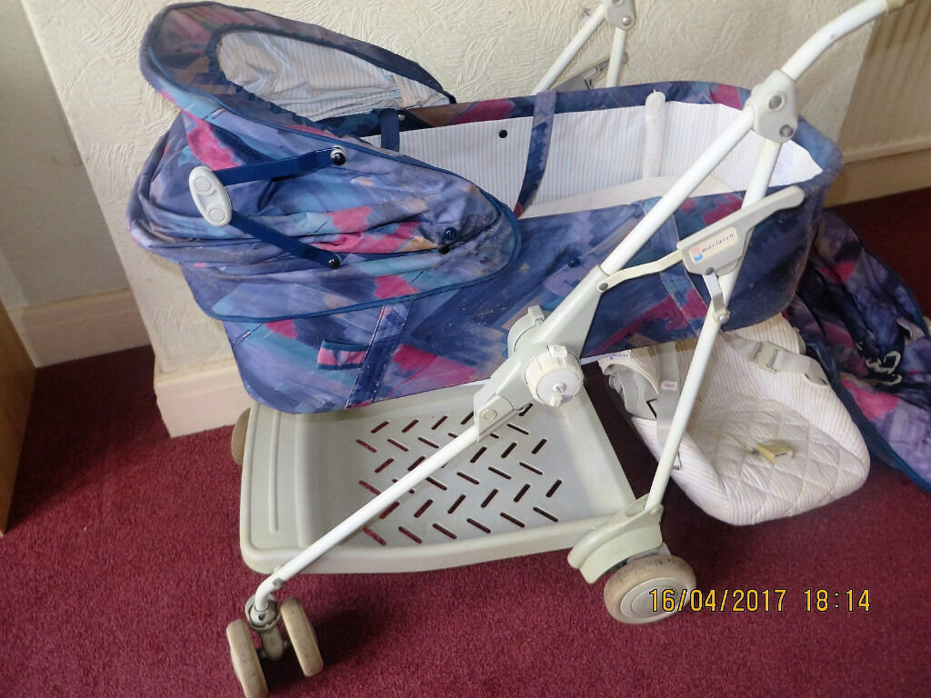 Chicco Pram Gumtree Maclaren Dreamer Pram Carry Cot Pushchair In