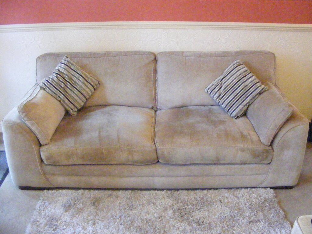 Sofa Portland Grey Large 3 Seater Sofa Portland Velvet