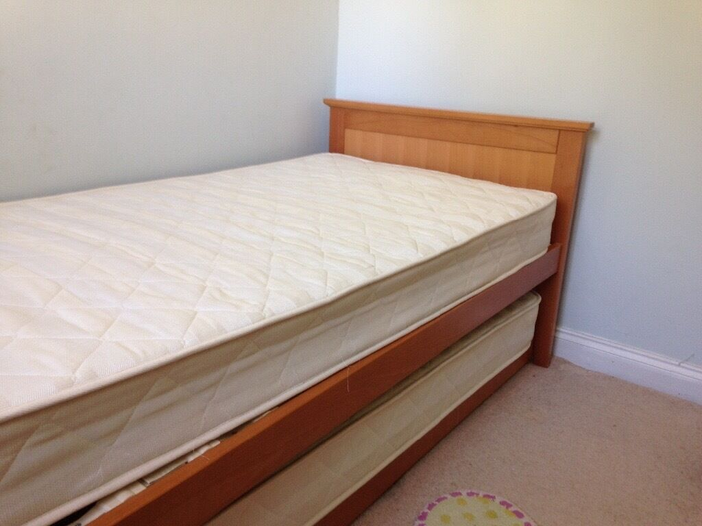 M&S twin single beds stacking