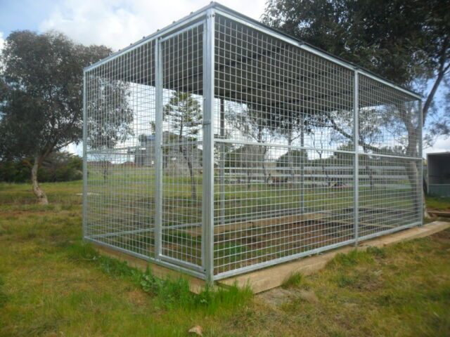 Cat Cage Gumtree 8 Panel Dog Puppy Cat Run Cage Enclosure Kennel Yard
