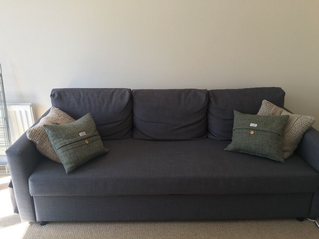 Friheten Sofa Bed 3 Seater Ikea Sofa Bed Grey Only 6 Months Old