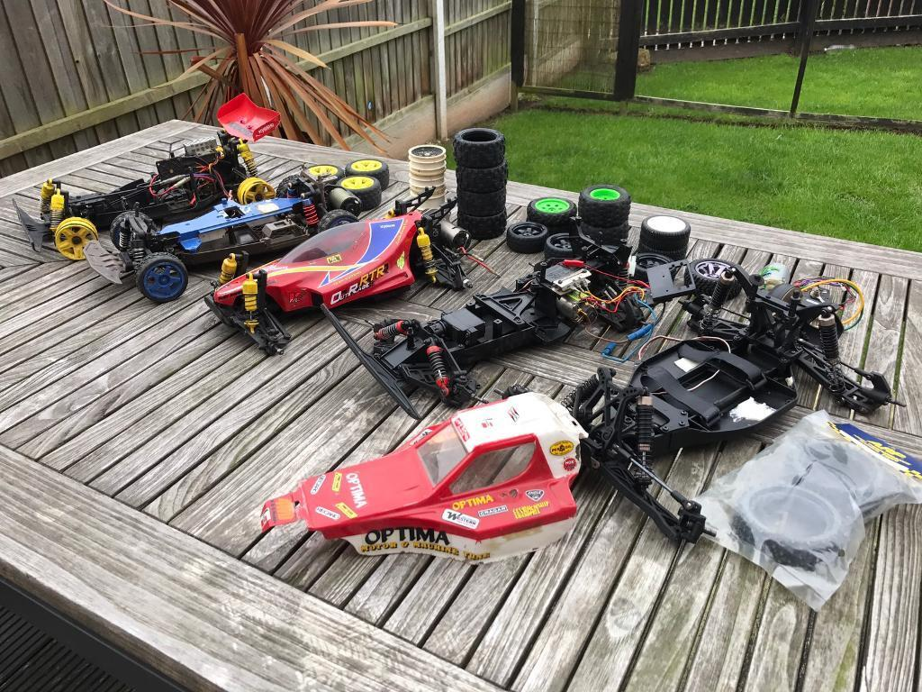 Tyres In Crewe Vintage Kyosho Rc Car Job Lot In Crewe Cheshire Gumtree