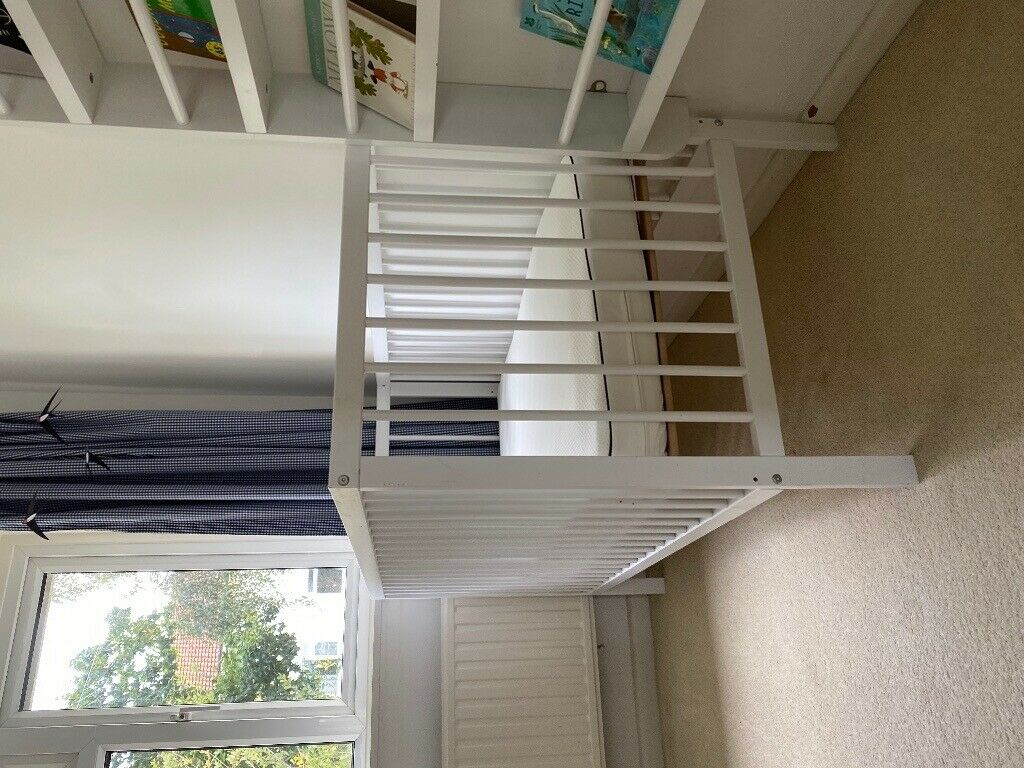 Baby Cots X2 Sold White Wooden Mokee Cot In Paignton Devon Gumtree