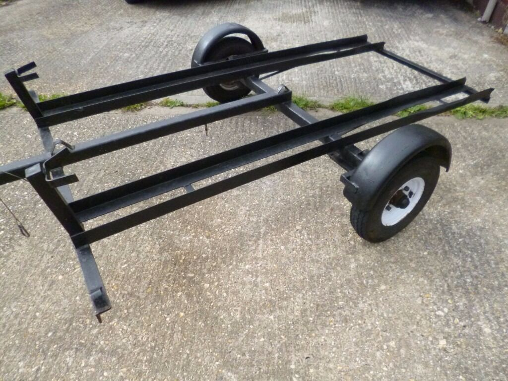 Dave Cooper Motorbike Trailer 2 Bike 350kg Takes Most