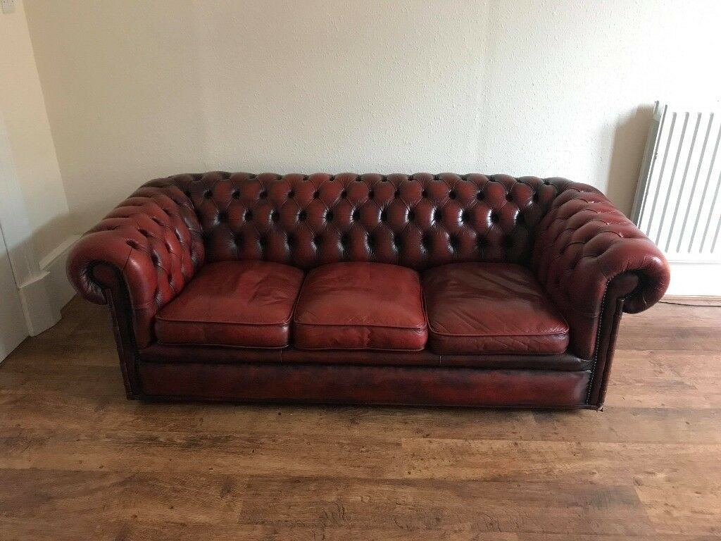 2 Seater Chesterfield Sofa Gumtree Oxblood Chesterfield Sofas Baci Living Room