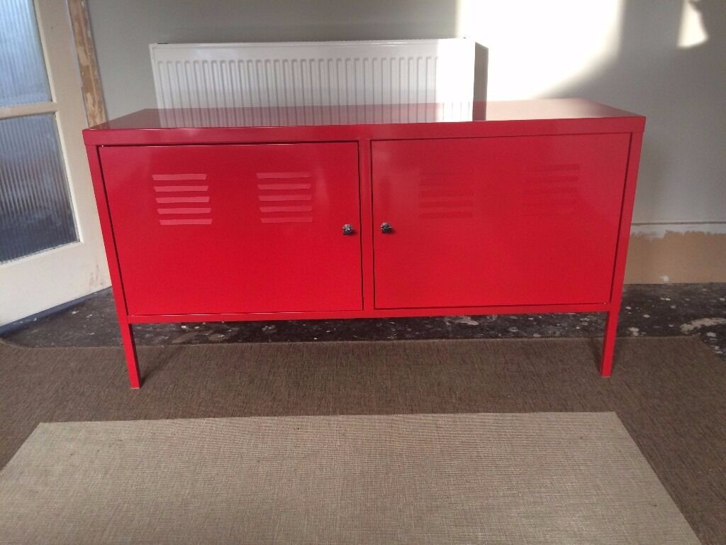 Ikea Ps Ikea Ps Red Metal Cabinet Locker 35 In Brighton East