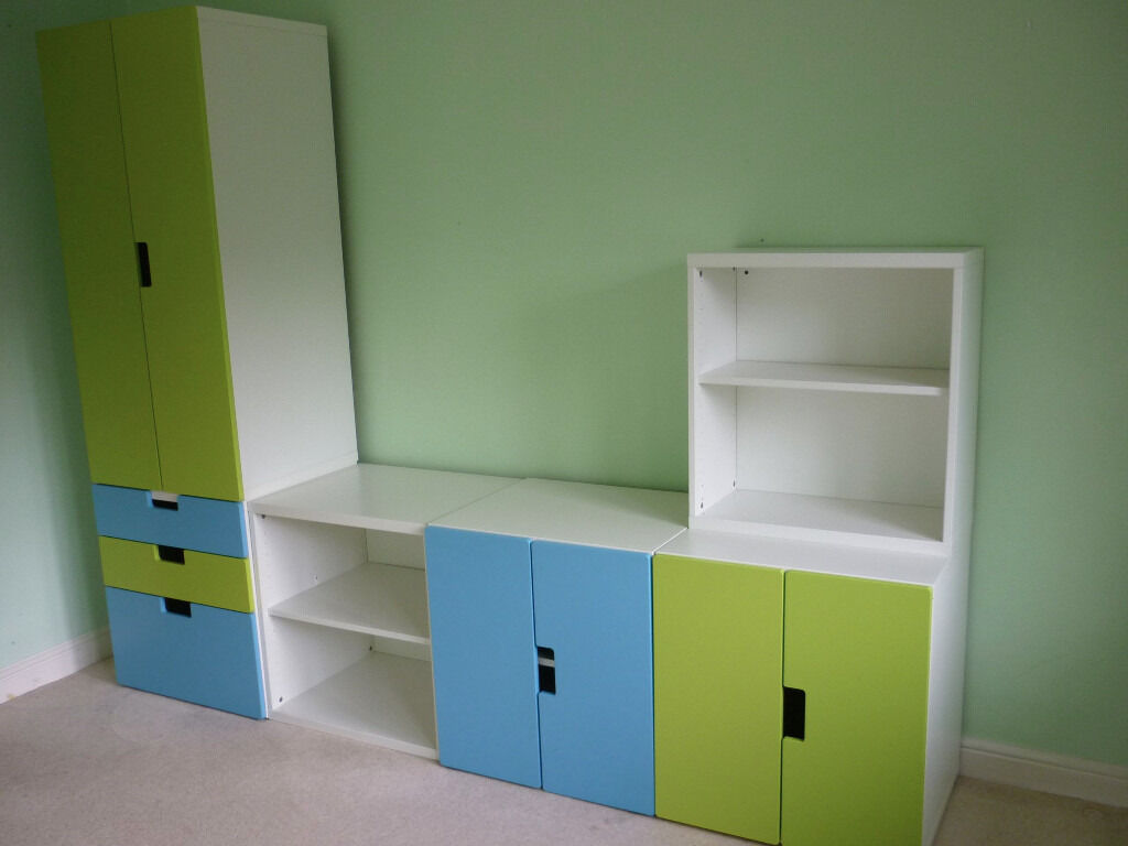 Ikea Stuva Armoire Ikea Stuva Childrens Bedroom Playroom Furniture Storage
