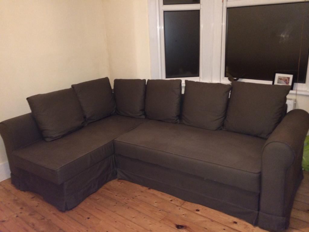 Sofa Bed With Metal Frame Ikea Moheda Corner Sofa-bed For Sale | In Earlsfield